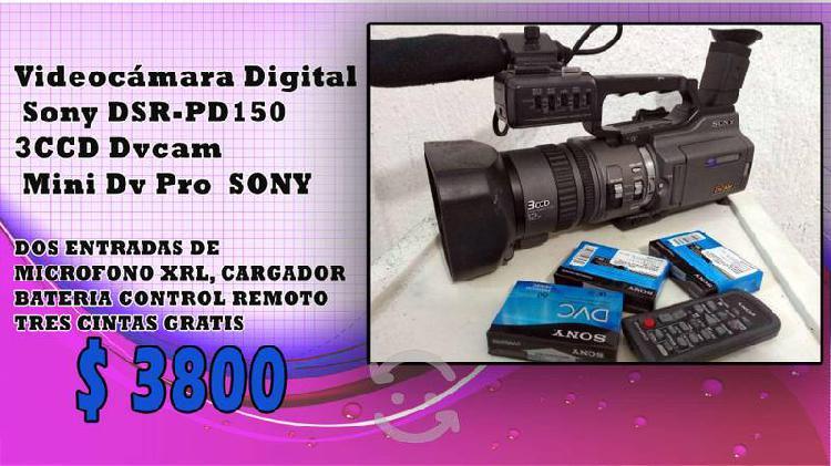 Videocamara sony 3ccd