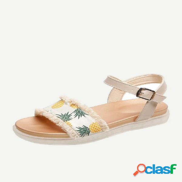 Nuevos modelos de zapatos planos antideslizantes para mujer con hebilla de fondo plano, zapatos frescos para mujer, zapatos para estudiantes, marea