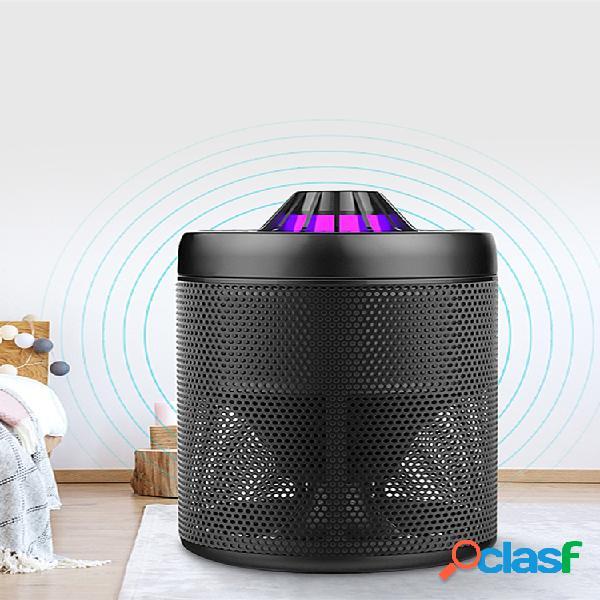 Loskii lm-707 usb charge smart led uv trampa para matar mosquitos lámpara atrapador repelente de moscas para matar moscas