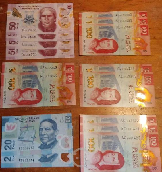 Billetes nuevos