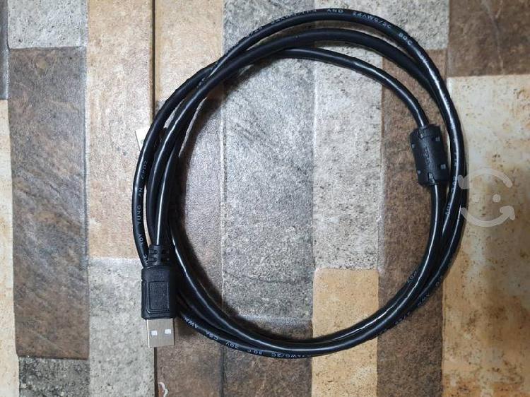 Cable usb a usb nuevo conecta varios aparatos