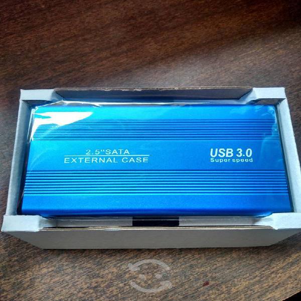Case o gabinete para disco laptop hdd 2.5