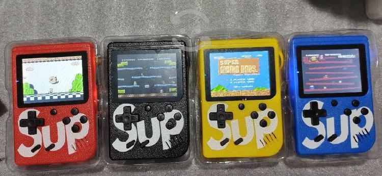 Game box sup 400 juegos retro mini recargargable