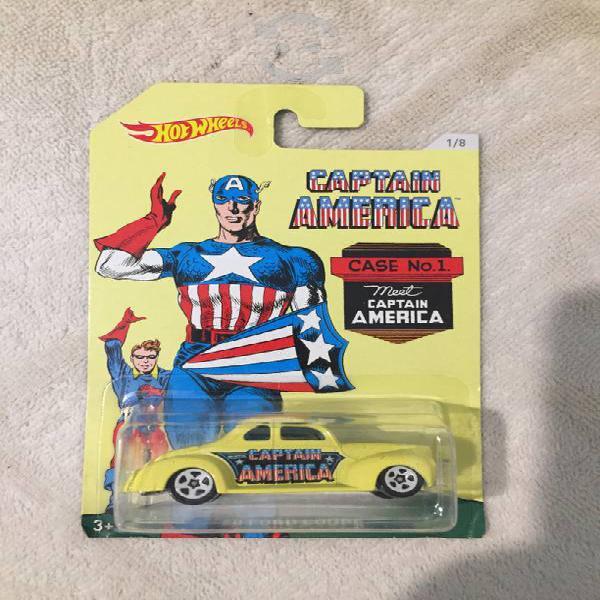 Hotwheels capitán america