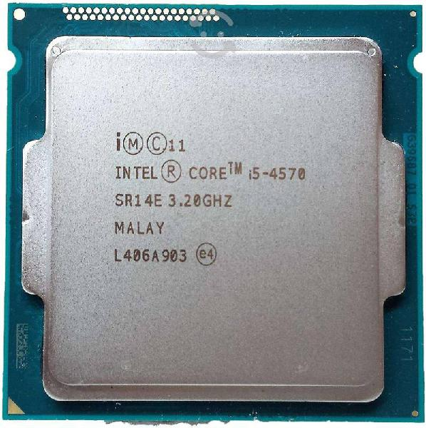 Intel core i5 4570 3.2ghz lga1150 4ta generación