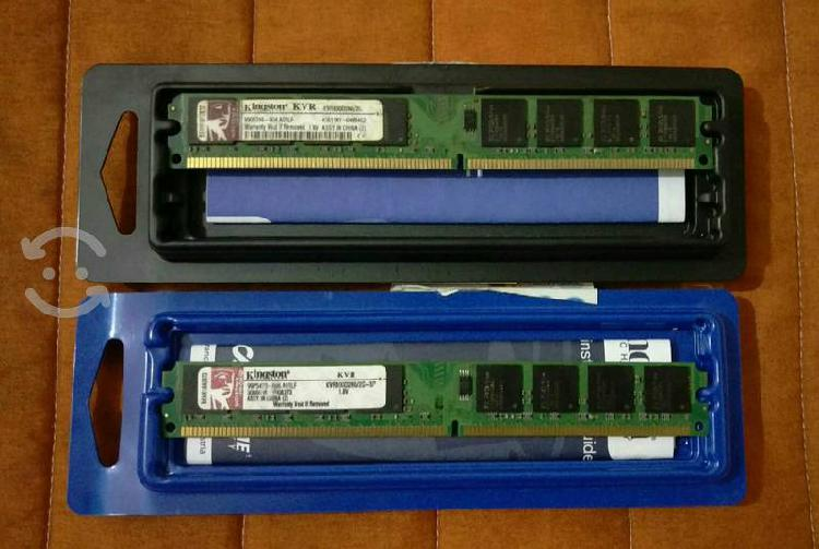 Memorias ram pc ddr2-800 mhz 2gb