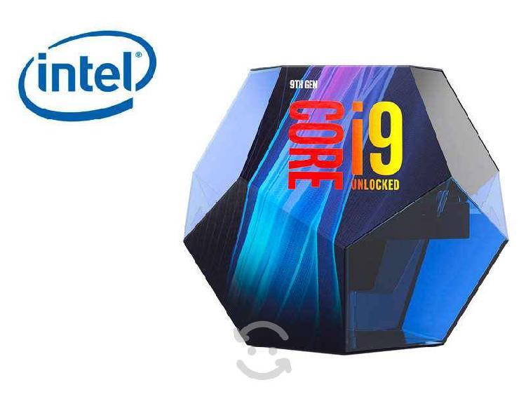 Procesador intel core i9 9th generacion
