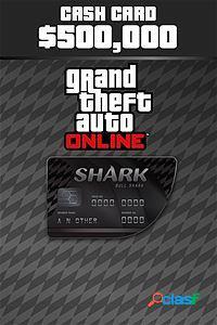 Grand theft auto v bull shark cash card, xbox one - producto digital descargable