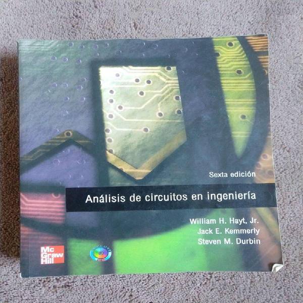 Analisis de circuitos en ingenieria de hayt