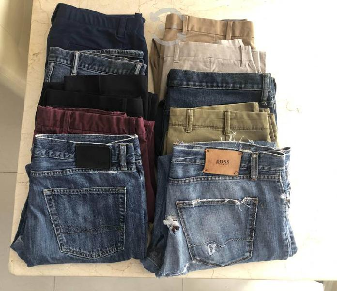 Lote pantalones usados