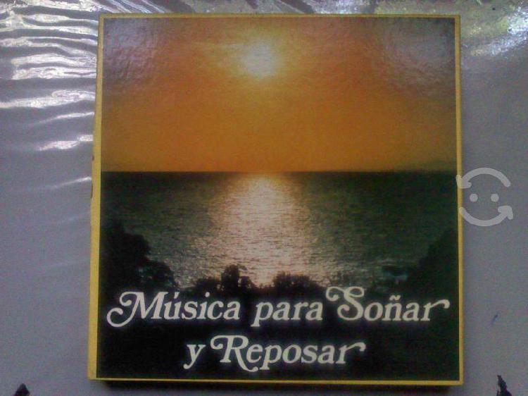 Música para soñar y reposar selecciones 7 lps inst