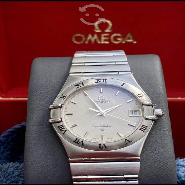 Reloj omega constellation acero inoxidable swiss n