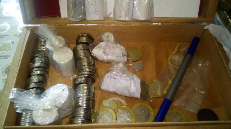 Venta de colección completa monedas de cinco pesos