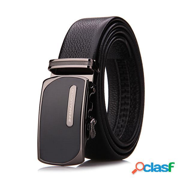 Cinturones de lujo de lujo cinturón de cowskin de piel genuina