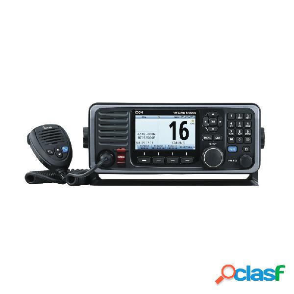 Icom radio radio móvil marino de 2 vías ic-gm600, negro
