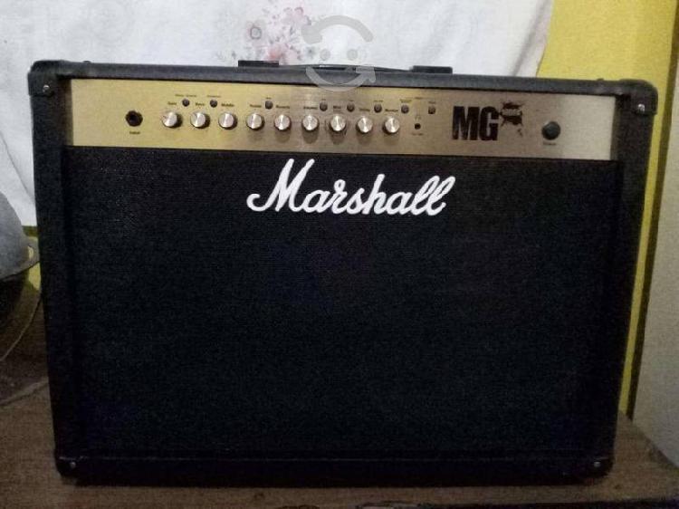 Amplificador marshall mg 100w/guitarra