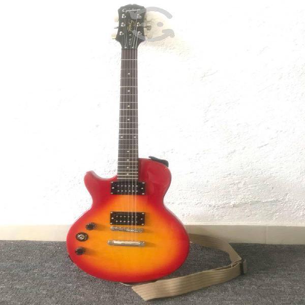 Guitarra epiphone les paul zurda - kit completo