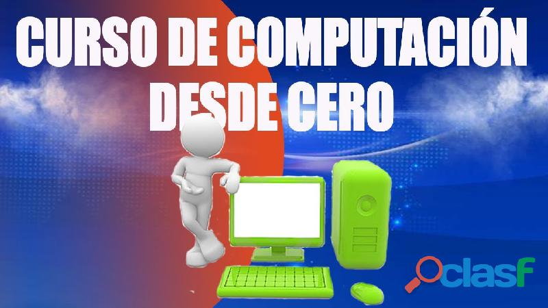 CURSO BÁSICO COMPUTACIÓN A DOMICILIO TODAS EDADES 2