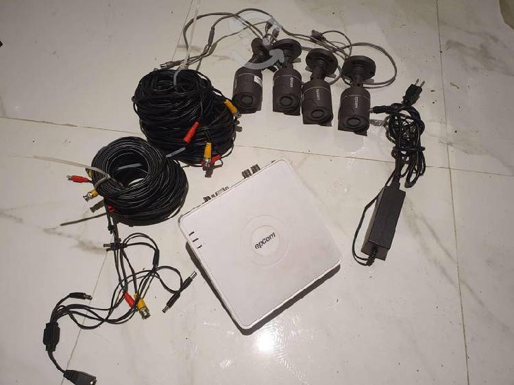 Sist de seguridad cctv dvr,4 cámaras 1 tb internet