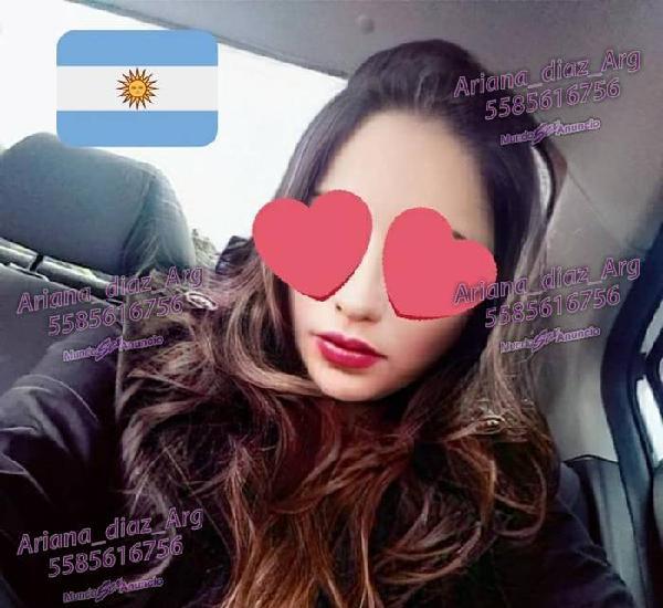 Ariana Diaz rica Argentina en CDMX con promo