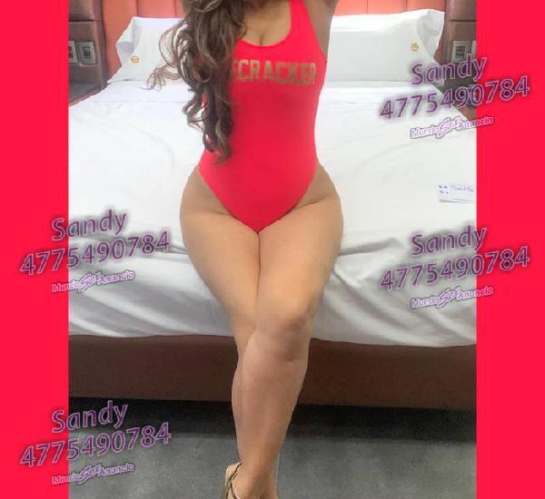 Sandy rica hermosa y muy complaciente