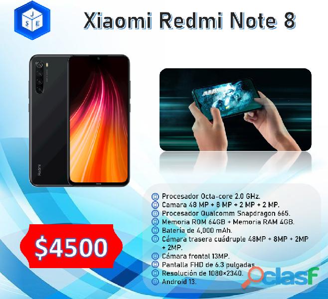 Xiaomi redmi note 8 64gb desbloqueado