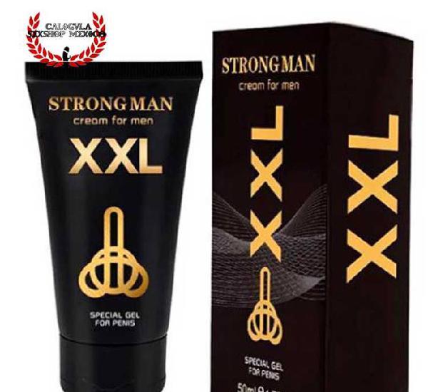 Titan Gel XXL Strong Man Para tu pene mas grueso, mas grande