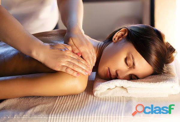 Dejate consentir. masaje relajante orgasmo garantizado.