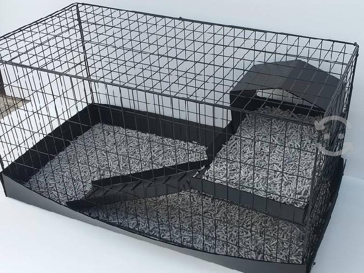 Jaula nueva artesanal para conejo o cuyo 1 metro