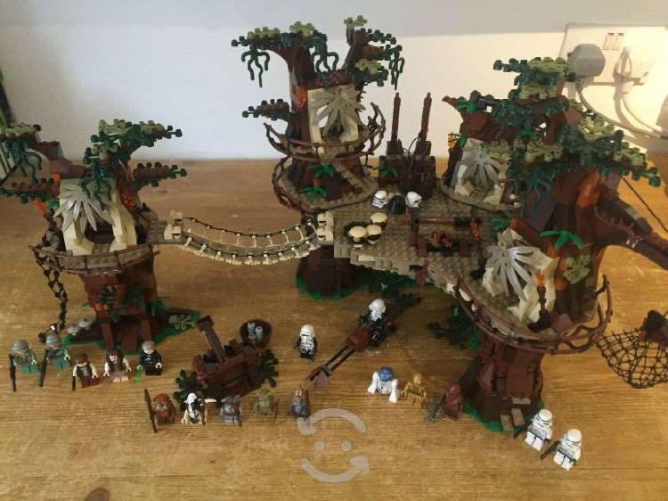 Lego star wars villa ewok completo