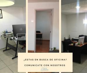Oficinas en renta aun disponibles comunicante ahora