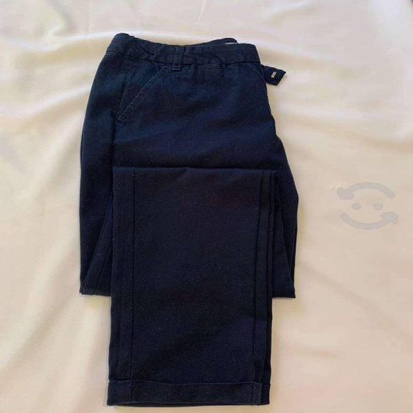 Pantalón azul bershka