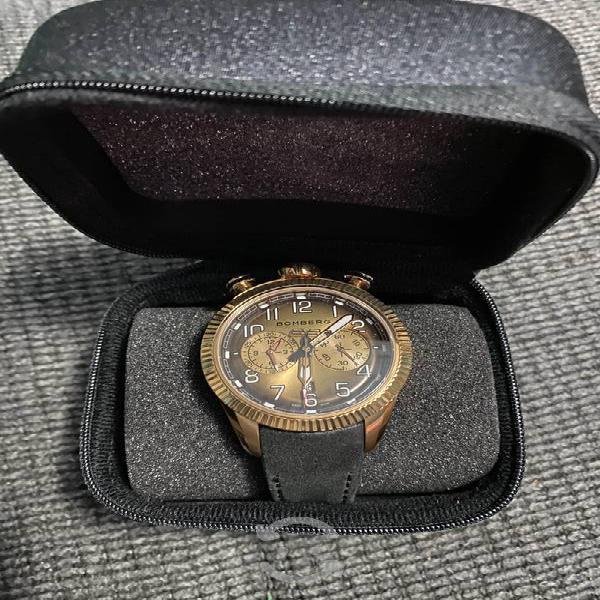 Reloj suizo bomberg nuevo