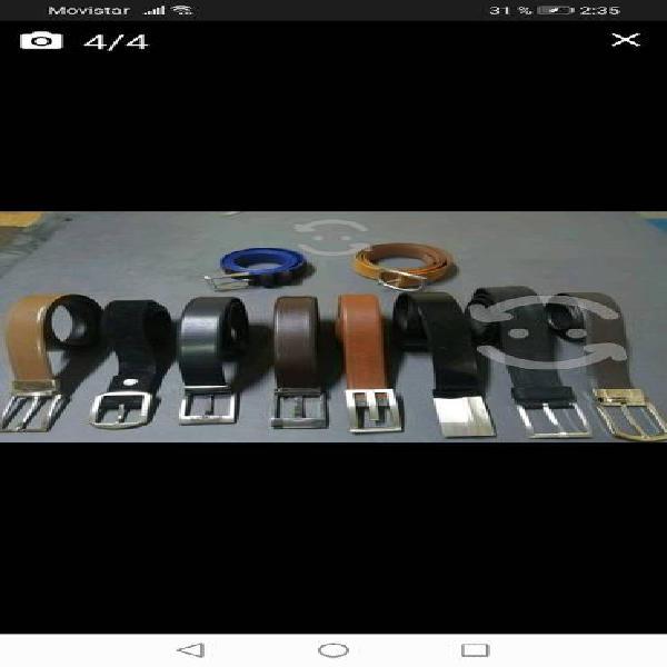 Cinturones diferentes marcas