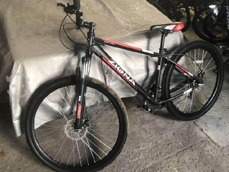 Bicicleta zigna rodado 29 equipo 21 vel como nueva