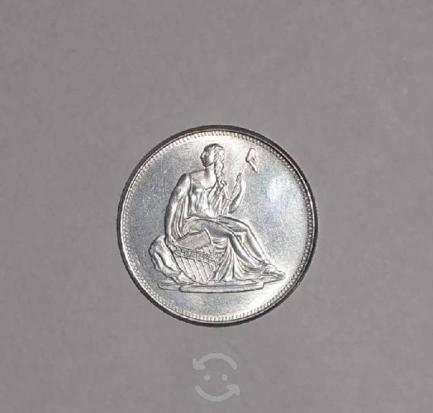 Moneda lady liberty 1 onza troy plata pura 999