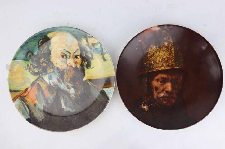 Platos decorativo rembrandt precio por ambos