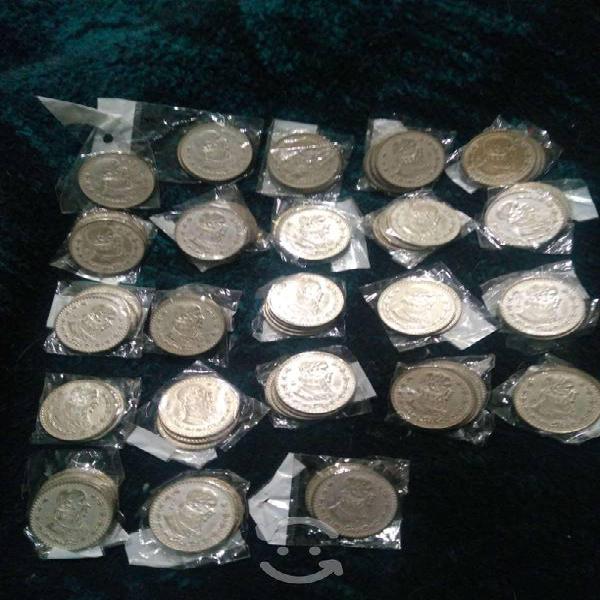 Pongo a la venta monedas mexicanas. tengo