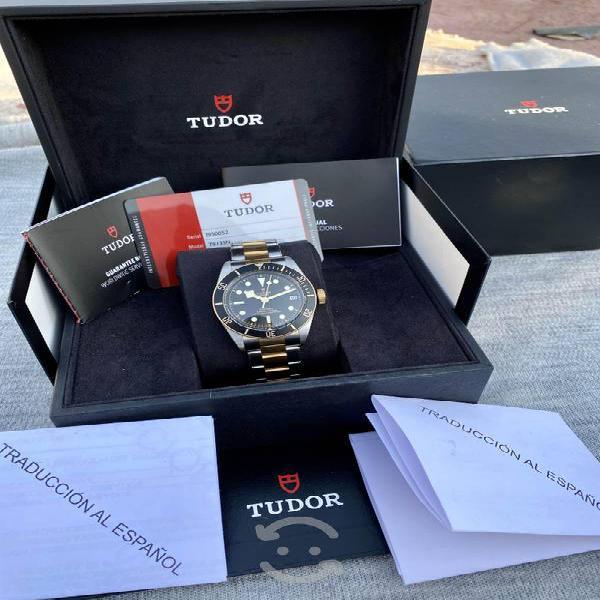 Reloj tudor by rolex acero/oro submariner full set