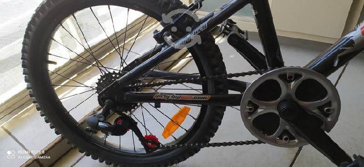 Bicicleta de montaña aluminio rodado 20 proflex
