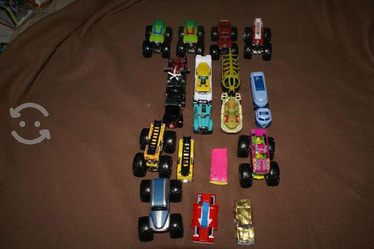 Lote carros hotwheels nuevos