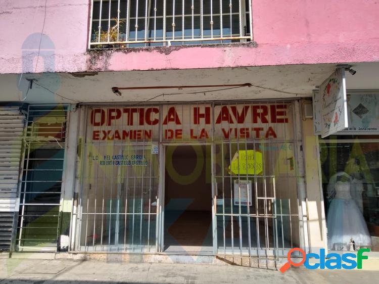 Renta local comercial 51 m² centro tuxpan veracruz, tuxpan de rodriguez cano centro
