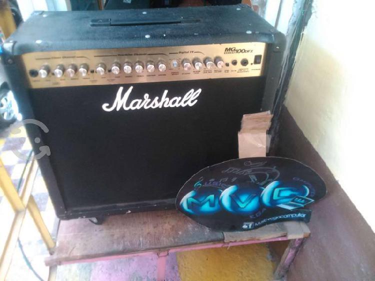 Amplificador para guitarra marshall mg100dfx
