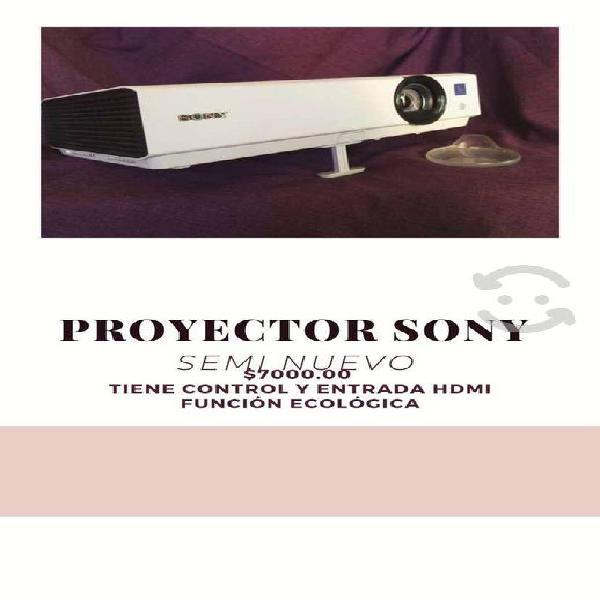 Proyector sony , con control remoto y entrada hdmi