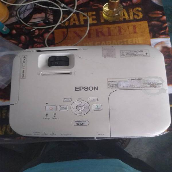 Proyector epson power lite w12+