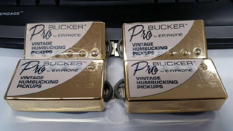 Set pastillas epiphone probucker custom push/pull