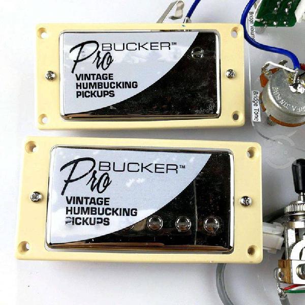 Set pastillas epiphone probucker nickel push/pull