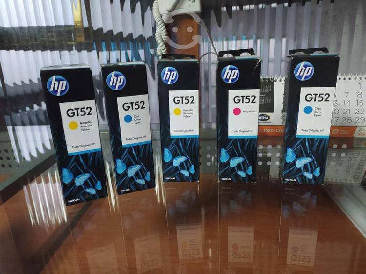 Tinta hp gt52