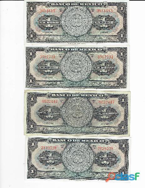COLECCIÓN BILLETES DE 1$ CALENDARIO AZTECA 2