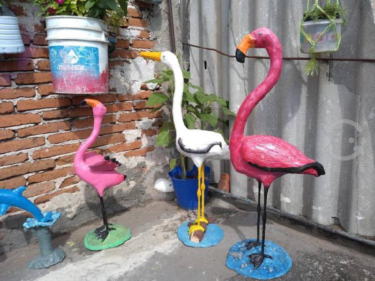 Figuras, animales para jardín